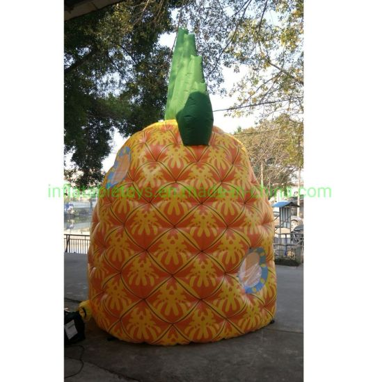 Advertising Inflatable Pineapple Tent Fruit Dome for Promotion