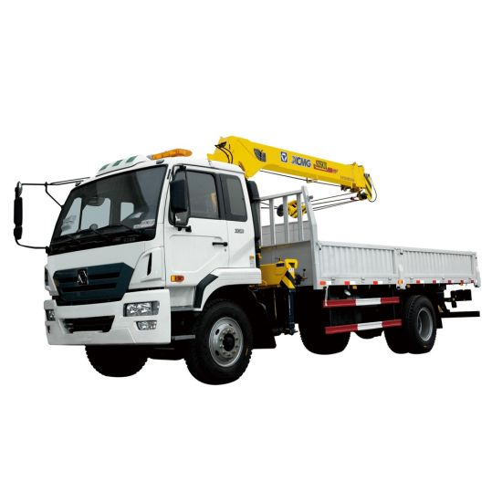 China Brand Sq3.2sk2q Trailer Mounted Crane for Sale Small Lift Crane pictures & photos
