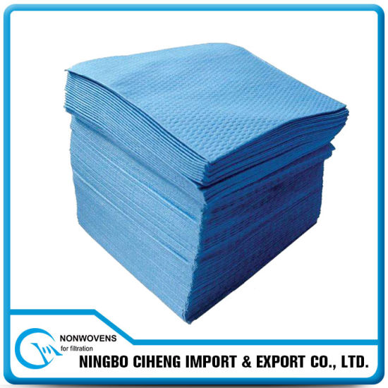 Dish Oil Absorption Wipe Meltblown Nonwoven Cleaning Cloth