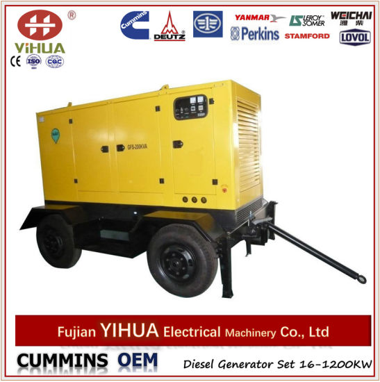 Tailer Diesel Generators From 10kw to 320kw
