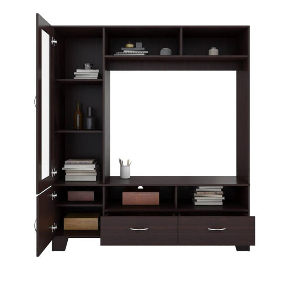 Fashion Design Best Selling Products High Quality New Product Home Living Room Furniture Plywood LCD Wood TV Stand