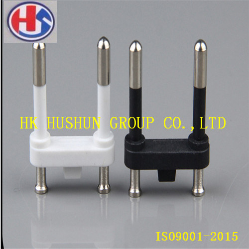 4.8 Brass Schuko Plug Pin with Nickel Plating (HS-SP-003) pictures & photos