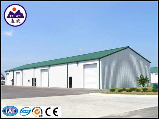 Prefab Light Steel Structure Metal Construction Prefabricated Building (TW436J)