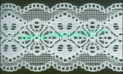 High Quality Fancy Elastic Lace
