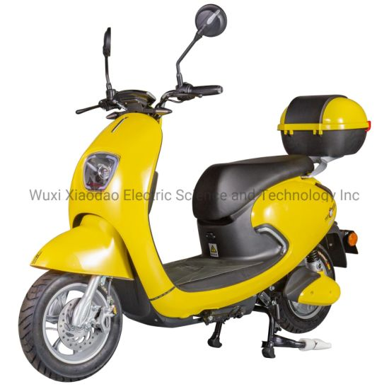 500W Electric Scooter with Vespa Style