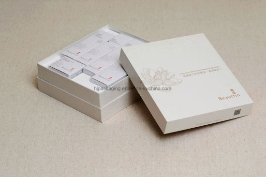 Colorful Printing Cosmetic Packaging Paper Gift Box with Clear PVC Window pictures & photos