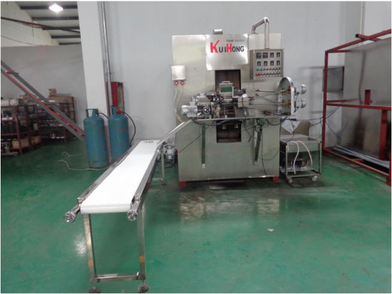 Kh-Djj Gas Type Egg Roll Machine/ Egg Roll Maker Manufacturer pictures & photos