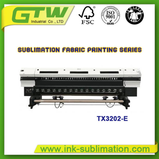 3200mm Sublimation Printer with Dual Dx5 Print Heads (Oric Tx3202-E)
