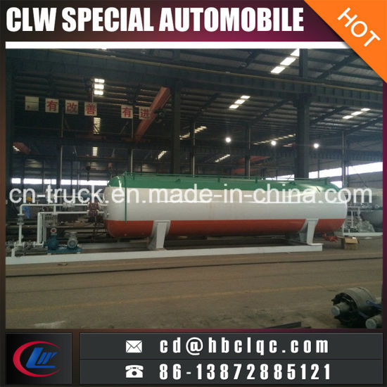 China Low Price Factory Direct Sales 8m3 Mobile Gas Station pictures & photos