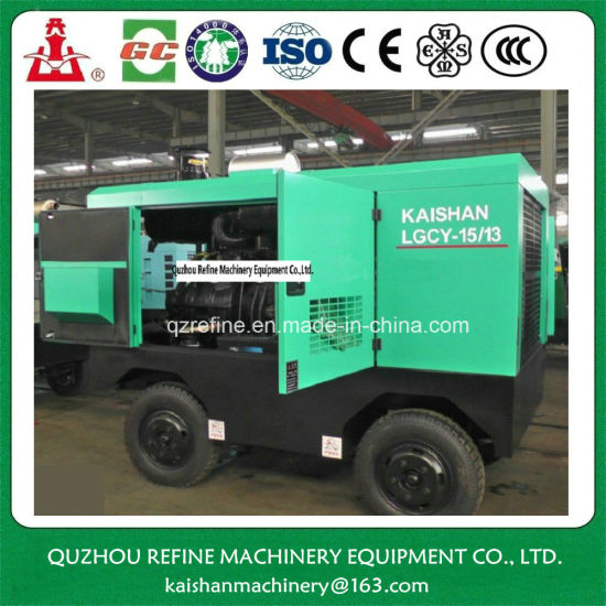 Kaishan LGCY-15/13 Diesel Drive Screw Air Compressor for Drilling Tools pictures & photos