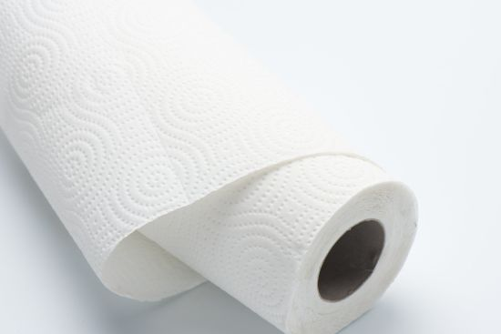 China High Quality 1 Ply Absorbent Water Kitchen Paper Towel Roll ...