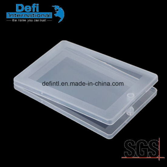 China Transparent Plastic Business Card Box China Business Card