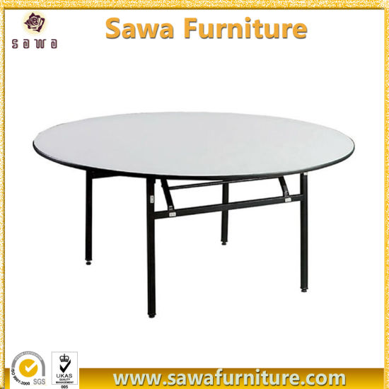 Incroyable Factory Wholesale Folding Round Banquet Table