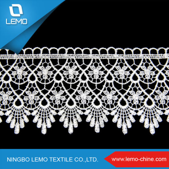 2018 New Fashion Water Soluble Chemical Lace pictures & photos