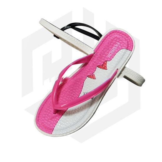2019 Flip Flop Ladies Slippers PVC