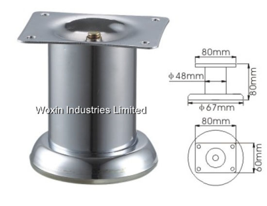 Modern Furniture Accessories Iron Chrome Legs 326