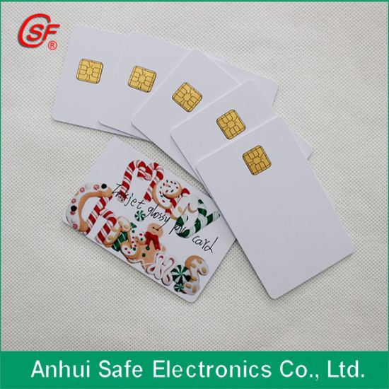 Hot New Material Fashion Contact IC Card for Inkjet Printer pictures & photos