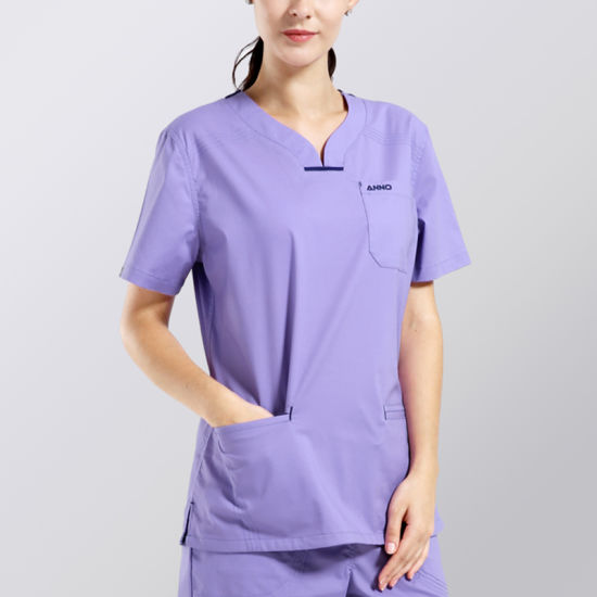 fe8a6c4cc13 Mens Medical Uniforms with Logo for Workwear Unisex Scrub Set pictures &  photos