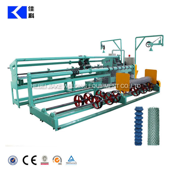 Full Automatic Chain Link Fence Weaving Machine pictures & photos