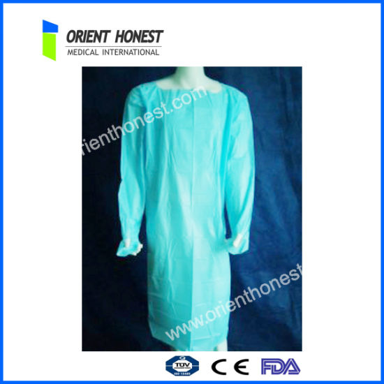 Non-Woven Fabric Surgical Gown Disposable Medical Product