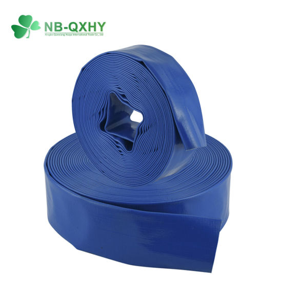 4 Bar 6 Bar Water Irrigation Hose 2 Inch Flexible PVC Layflat Hose