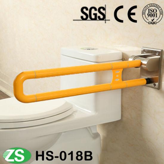 Bath Accessories Bathroom Folding Bathtub Nylon ABS Handicap Toilet Grab Bar