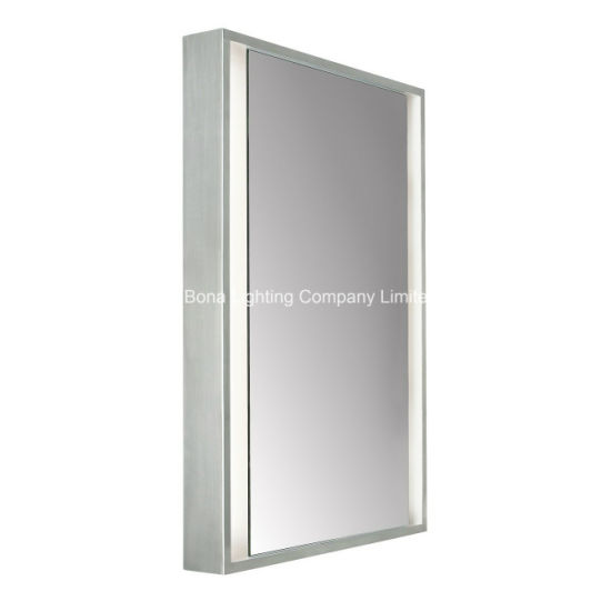 China IP44 LED Hotel Mirror, 304-Rating Stainless Steel Frame in ...