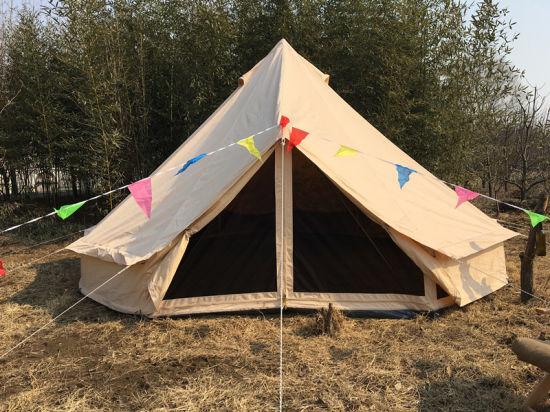 High Quality Cotton Canvas 3m 4m 5m 6m Circular Bell Tent & China High Quality Cotton Canvas 3m 4m 5m 6m Circular Bell Tent ...