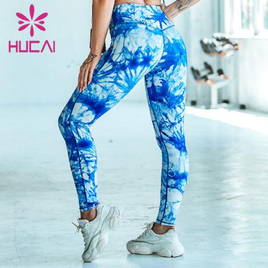 Custom 2020 Wholesale Custom Mesh Tight Fitness Sports Yoga Leggings