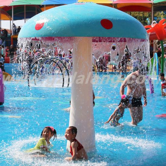 Water Spray Fiberglass Raining Mushroom