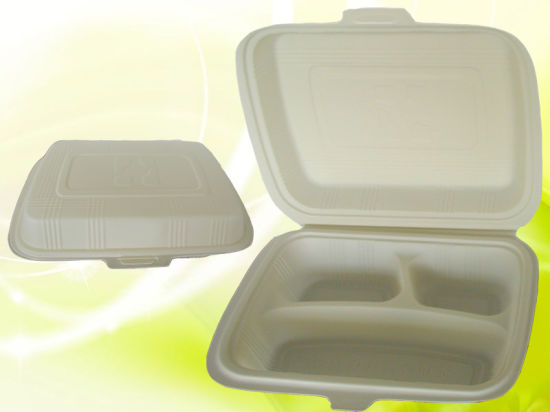 Top Quality OEM Design Biodegradable Lunch Box pictures & photos
