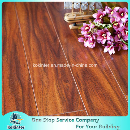 Kok Hardwood Flooring Laminate High Gloss 04