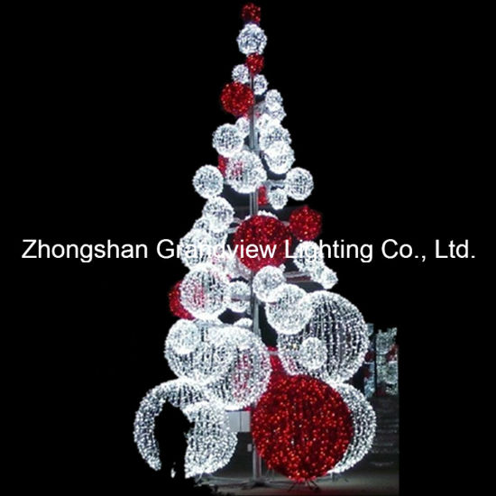 led outdoor giant christmas tree light