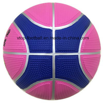 Twelve Panels High Quality Rubber Basketball pictures & photos