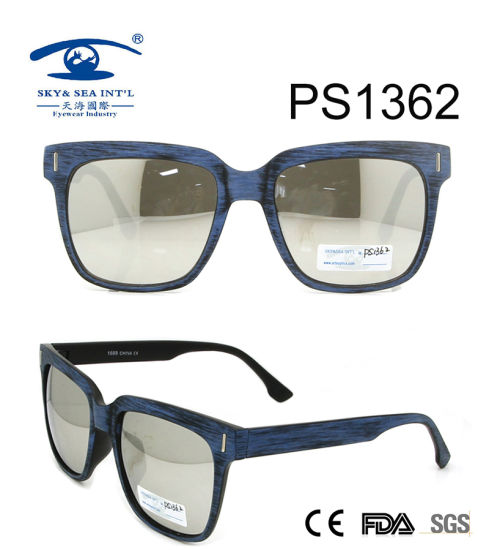 Super Quality Hot Sell Plastic Sunglasses (PS1362)