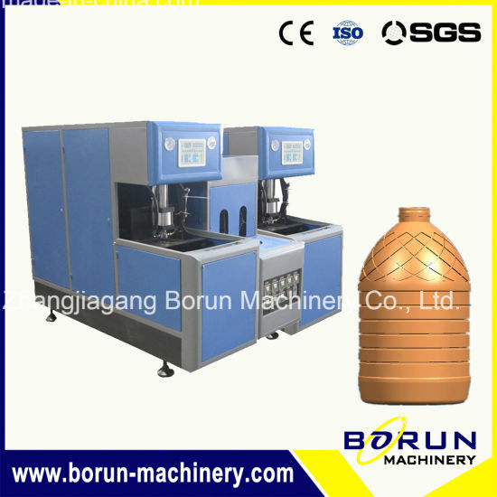 Pet Bottle Blower with One Oven and Two Blowers for 500ml Bottle pictures & photos