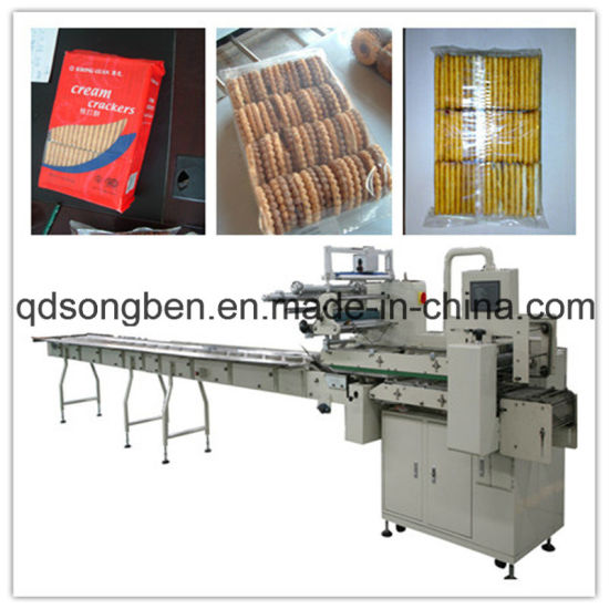Multi Row Tray-Less Biscuit Packing Machine (SF-CW)