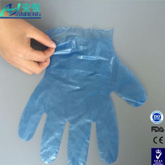 New Arrival! Disposable PE HDPE Glove Factory Wholesale, Size 25.5*28.5cm