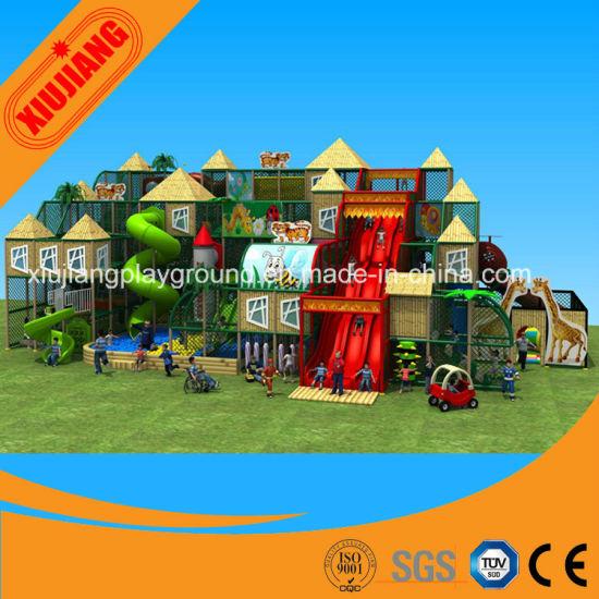 Entertainment Park Indoor Jungle Gym Equipment for Kids