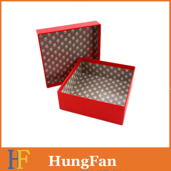 Decorative Fancy Jewelry/Watch Cosmetic CD/VCD Paper Gift Packaging Box