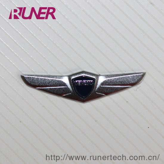 Auto Industry Electroform Nickel Logo Sticker Electroforming pictures & photos