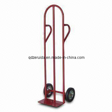High Quality Cheap Metal Folding Hand Trolley pictures & photos