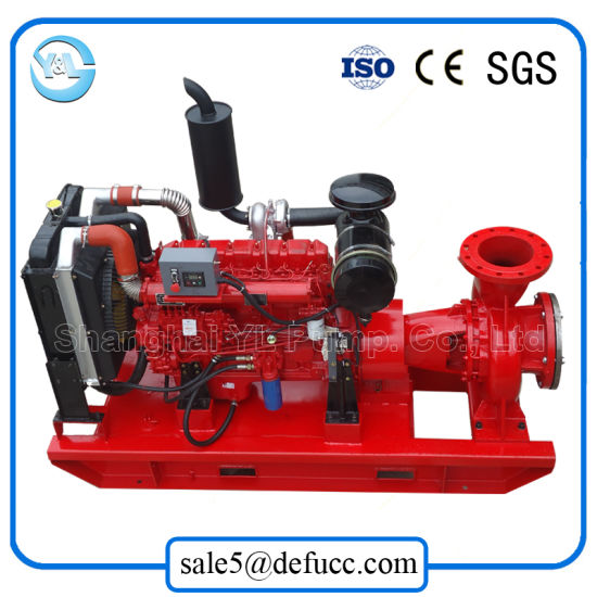 Hot Sale End Suction Diesel Engine Centrifugal Pump for Irrigation System