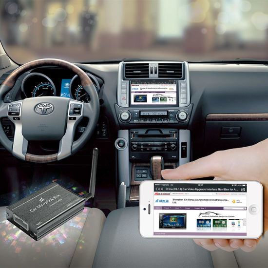 Mirrorlink Interface Box for Toyota with WiFi pictures & photos