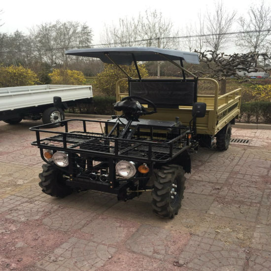 Four Wheel 2 Seater Diesel Utility Farm Work UTV for Agriculture pictures & photos