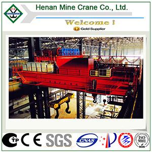 Metallurgical Casting Crane-Metallurgy Ladle Double Girder Overhead Crane