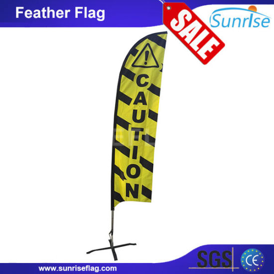 2016 Factory Wholesale Outdoor Display Feather Flag Pole pictures & photos