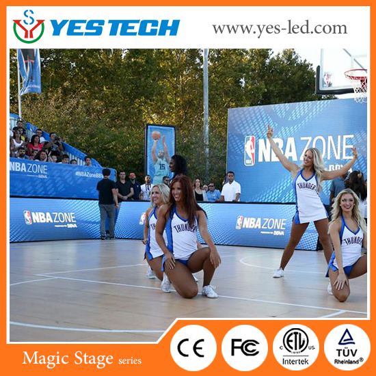 Full Color Outdoor/Indoor Stadium Perimeter LED Billboard pictures & photos