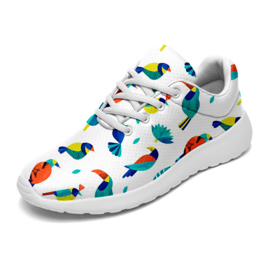 Custom Lightweight Walking Shoes for Men Breathable Running Shoes Fashion Colorful Sneakers pictures & photos