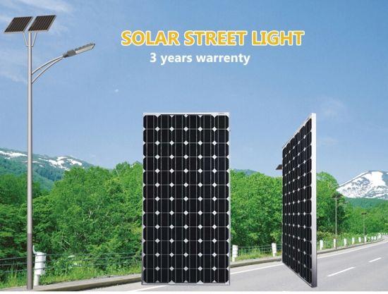 Outside LED Lighting 30W All-in-One Solar Street LED Light with Mono Solar Panel